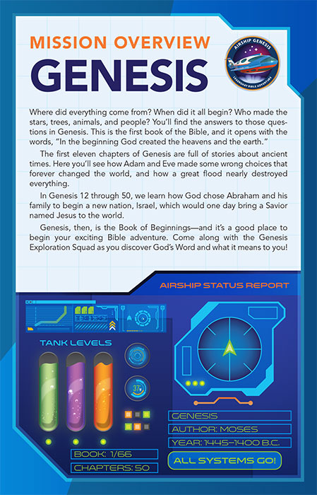 Book review of NKJV Airship Genesis Kids Study Bible (Thomas Nelson) by papertapepins